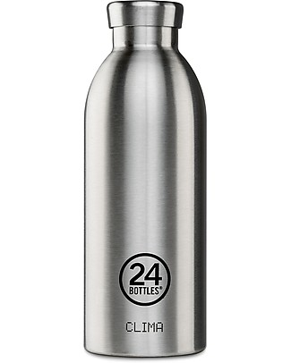 24Bottles Borraccia Termica Clima in Acciaio Inox, 500 ml Borracce Termiche
