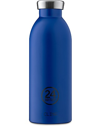 24Bottles Borraccia Termica Clima in Acciaio Inox, 500 ml - Gold Blue Borracce Termiche