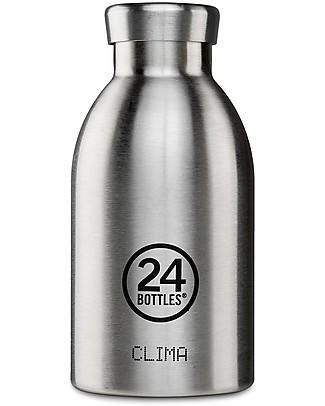24Bottles Borraccia Termica Clima per Bambini, 330 ml - Acciaio Borracce Metallo