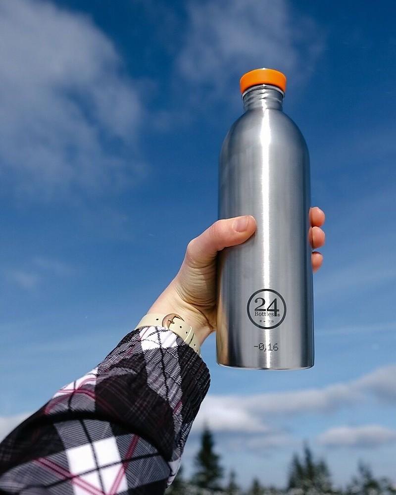 Urban Bottle 500ml Steel Bottiglia in Acciaio Inossidabile 24Bottles®
