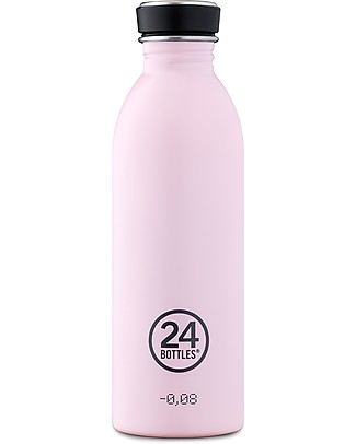 24Bottles Borraccia Urban in Acciaio Inox, 500 ml - Candy Pink Borracce Metallo