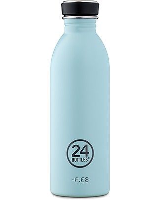 24Bottles Borraccia Urban in Acciaio Inox, 500 ml - Cloud Blue Borracce Metallo