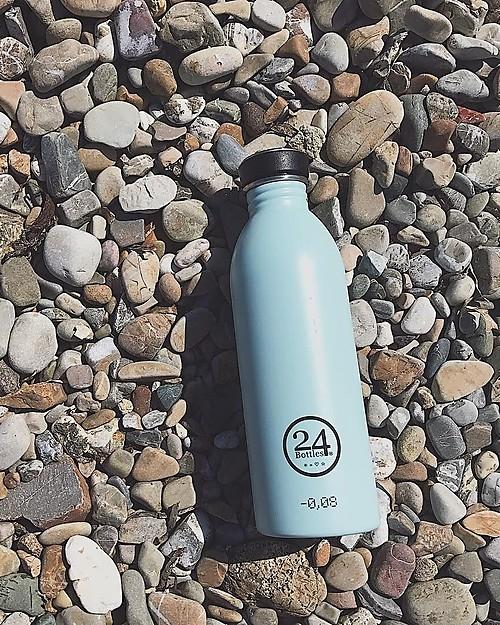 24Bottles Borraccia Urban in Acciaio Inox, 500 ml - Cloud Blue Borracce Metallo