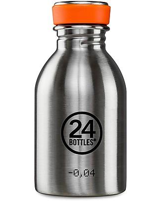 24Bottles Borraccia Urban per Bambini, 250 ml - Acciaio Borracce Metallo