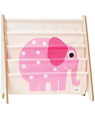 3 Sprouts Libreria Frontale Montessoriana per Bambini - Elefante Rosa Librerie