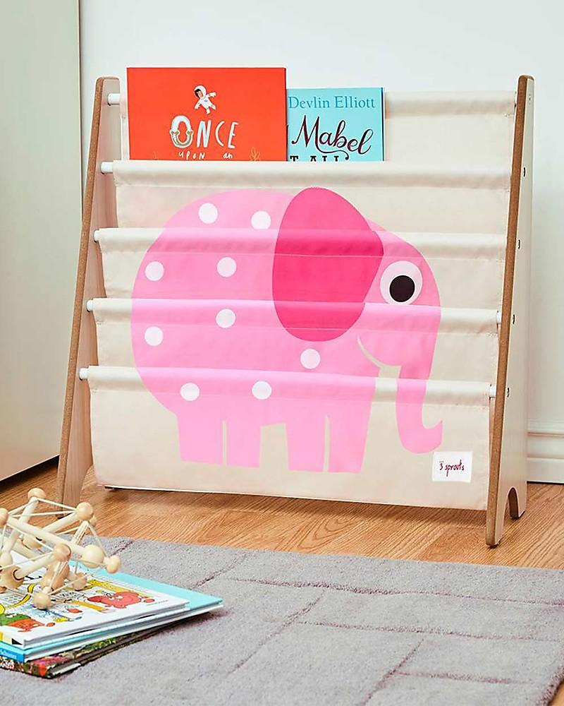 Libreria Per Libri Pesanti 3 sprouts libreria frontale montessoriana per bambini