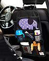 3 Sprouts Portaoggetti per Auto, Elefante - Universale, 56 x 33 cm Accessori Seggiolini Auto