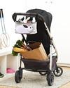 3 Sprouts Portaoggetti per Passeggino - Coniglio - Si adatta a qualunque passeggino! Accessori