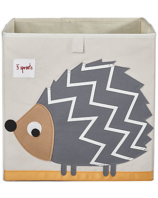 3 Sprouts Storage Box - Hedgehog - Suitable for Ikea shelving units! Toy Storage Boxes