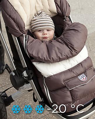 7AMenfant Sacco Passeggino Baby Shield  Marron Glacé -  Copertura Modulabile  Sacchi Passeggino