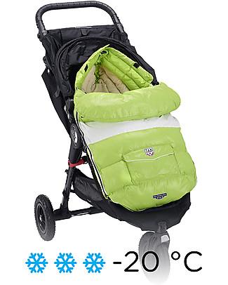 7AMenfant Sacco Passeggino Baby Shield  Neon Lime -  Copertura Modulabile  Sacchi Passeggino