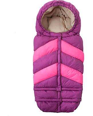 7AMenfant Sacco Passeggino Blanket 212 Universale da 0-4 anni - Pink Chevron Sacchi Passeggino