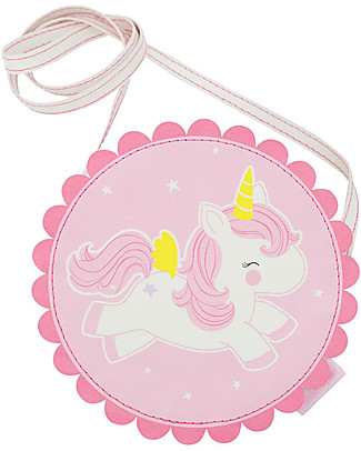 A Little Lovely Company Borsa Tracolla, Unicorno - Rosa Borse Tracolla