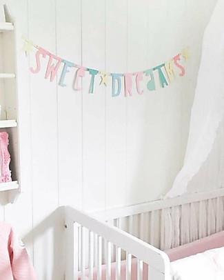 A Little Lovely Company Letter Banner - Pastello - Componi la tua frase! Festoni