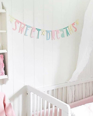 A Little Lovely Company Letter Banners - Pastello - Componi la tua frase! Festoni