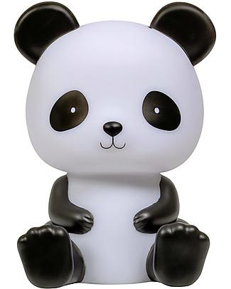 A Little Lovely Company Luce da Notte LED, Panda - Nero Lampade Comodino