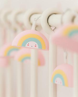 A Little Lovely Company Lucine LED a Ghirlanda, Arcobaleni - Arcobaleno Biglietti Di Auguri