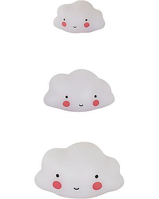 A Little Lovely Company Minis, 3 Nuvolette - Bianco Decorazioni