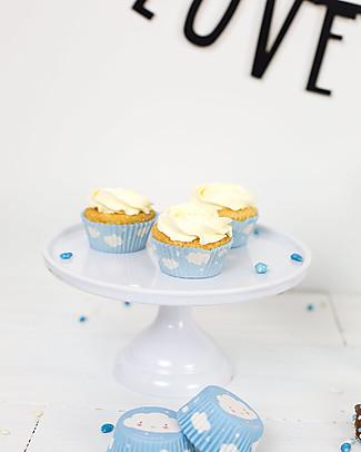 A Little Lovely Company Piccola Alzatina per Dolci - Bianco Piatti e Scodelle