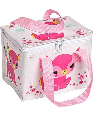A Little Lovely Company Porta Pranzo Termico, Cerbiatto - Rosa null