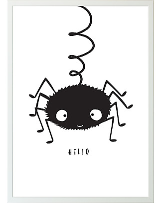 A Little Lovely Company Poster Ragnetto - 50x70 cm Posters