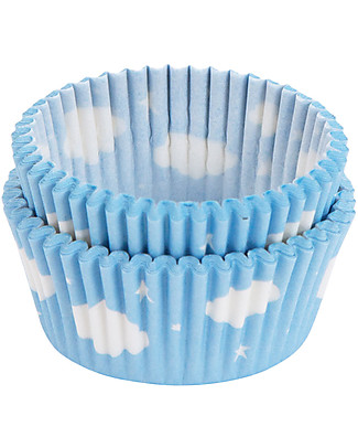 A Little Lovely Company Set 50 Porta Cupcake in Carta - Nuvolette  Piatti e Scodelle