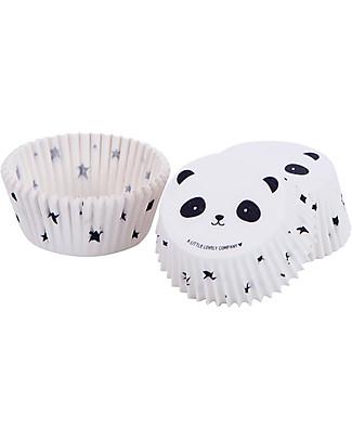 A Little Lovely Company Set 50 Porta Cupcake in Carta - Panda  Piatti e Scodelle