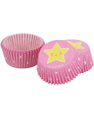 A Little Lovely Company Set 50 Porta Cupcake in Carta - Stelle null
