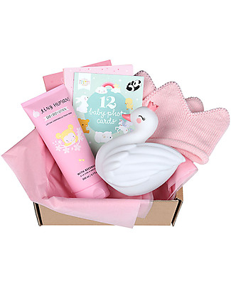 A Little Lovely Gift Box Set Regalo Nascita, Benvenuta! - Bambina - Medium Set regalo