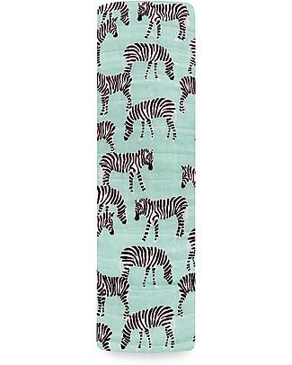 Aden & Anais Copertina Swaddle Milleusi - Mod Zebra - 100% Mussola di Cotone Copertine Swaddles