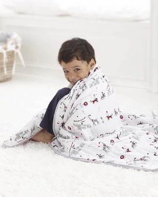 Aden & Anais Coperta Dream™ Blanket - Vintage Circus - 100% Mussola di Cotone (120x120cm) Coperte