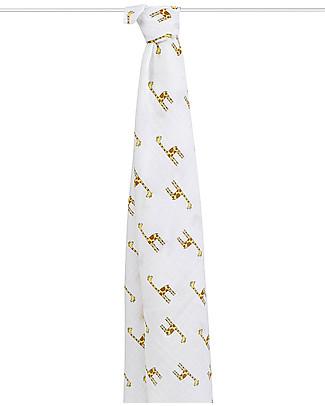 Aden & Anais Copertina Swaddle Milleusi - Giraffe - 100% Mussola di Cotone Swaddles