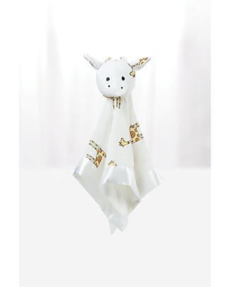 Aden & Anais DouDou Giraffa Musy Mate ™ - Midnight - Mussola di Bambù - Il migliore amico del tuo bebè! Doudou