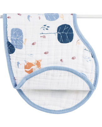 Aden & Anais Into the Woods Burpy Bib - 100% organic cotton muslin! Burpy Bibs