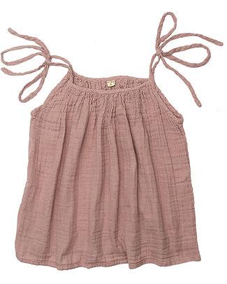 Aden & Anais Mia Mum Top - Dusty Pink- Cotton Muslin Evening Tops