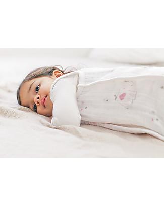Aden & Anais Sacco Nanna Leggero Lovely Ellie - 100% Mussola di Cotone Sacchi Nanna Leggeri