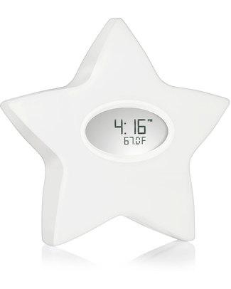 Aden & Anais Stella della Serenità 5 in 1: luce notturna, orologio, termometro, diario della pappa, riproduttore sonoro  Lampade Da Notte
