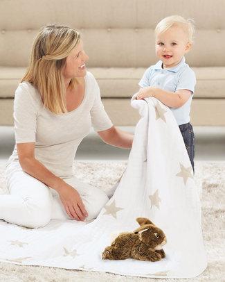 Aden & Anais Super Star Scout Dream™ Blanket - 100% Cotton Muslin (120 cm x 120 cm) Blankets