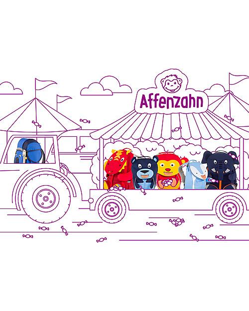 Affenzahn Zainetto 1-3 anni, Ippopotamo Hilda - Eco-friendly e Giocoso! Zainetti