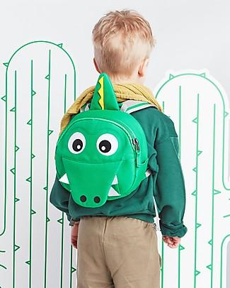 Affenzahn Zainetto 1-3 anni, Kai il Coccodrillo - Eco-friendly e giocoso! Zainetti