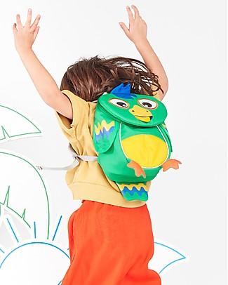Affenzahn Zainetto 1-3 anni, Piet il Pappagallo - Eco-friendly e giocoso! Zainetti