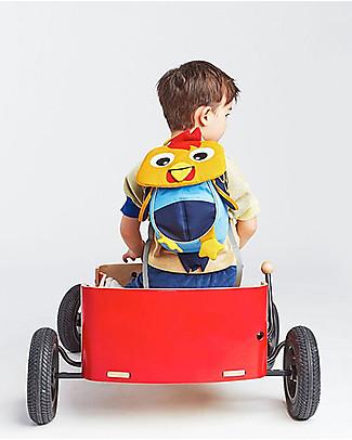Affenzahn Zainetto 1-3 anni, Richi il Galletto - Eco-friendly e giocoso! Zainetti