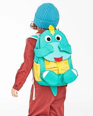 Affenzahn Zainetto 3-5 anni, Didi il Dinosauro - Perfetto per l'asilo ed eco-friendly! Zainetti