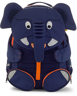 Affenzahn Zainetto 3-5 anni, Elefante Elias - Ideale per l'asilo e Eco-Friendly! null