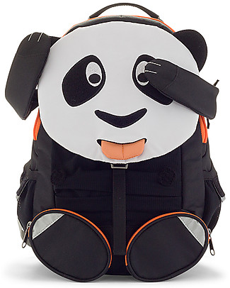 Affenzahn Zainetto 3-5 anni, Panda Paul – Ideale per l'asilo e Eco-Friendly! Zainetti