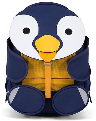Affenzahn Zainetto 3-5 anni, Polly il Pinguino - Perfetto per l'asilo ed eco-friendly! Zainetti