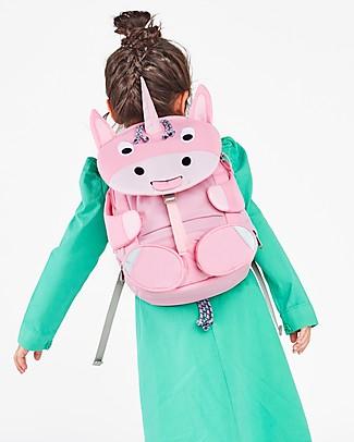 Affenzahn Zainetto 3-5 anni, Ursula l'Unicorno - Perfetto per l'asilo ed eco-friendly! Zainetti