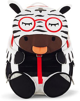 Affenzahn Zainetto 3-5 anni, Zena Zebra – Ideale per l'asilo e Eco-Friendly! Zainetti