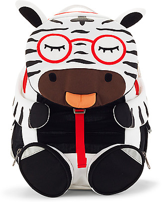 Affenzahn Zainetto 3-5 anni, Zena Zebra - Ideale per l'asilo e Eco-Friendly! Zainetti