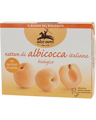 Alce Nero Nettare di Albicocca Biologico, 3 Brick – Sola frutta fresca italiana Succhi Bio